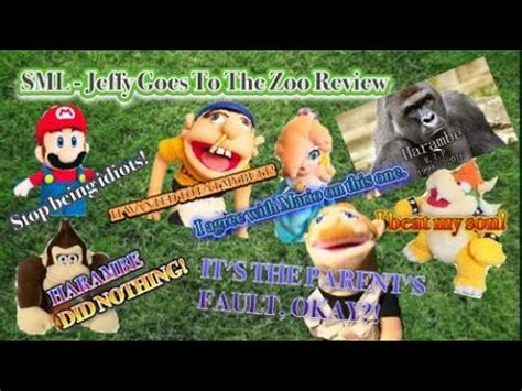 sml jeffy goes to the zoo review youtube