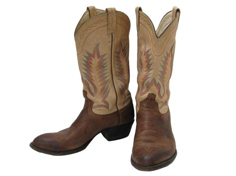 best mens western boots vintage tony lama eighties shoes 80s tony lama mens