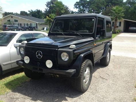 buy car manuals 2008 mercedes benz g class security system purchase used 1980 mercedes benz convertible manual g class g230 g500 g55 g wagon in myrtle