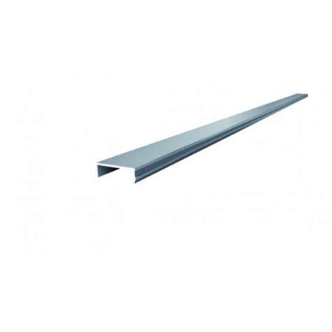 terrassen abschlussprofil alu abschlussprofil u form f 252 r wpc zaun 180 cm l 228 nge