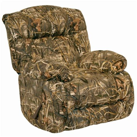 realtree camouflage recliner laredo chaise rocker recliner realtree camo recliners