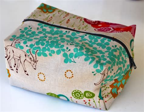 tutorial makeup bag sewing business blog 187 project tutorial box style