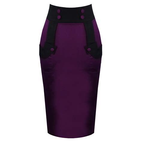 purple pencil skirt fashion skirts