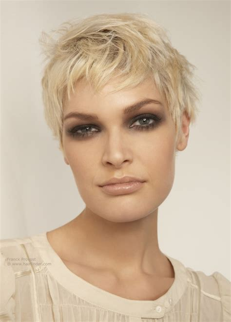 ruffled pixie hairstyle ruffled short hairstyle with short bangs