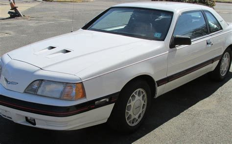 year sleep ford thunderbird turbo coupe