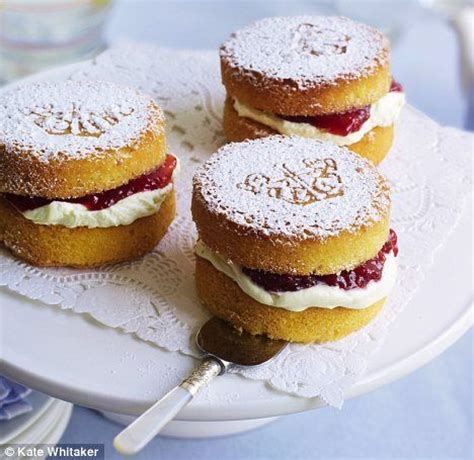 Recipe: Mini Victoria sponge cakes   Afternoon tea, Cakes