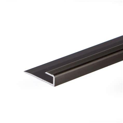 anodised aluminium carpet edge ending cover strip floor bar trim 900x7 9x9mm c63 ebay