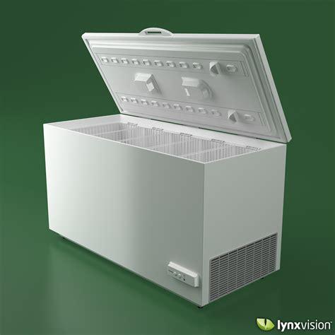 Freezer Electrolux electrolux chest freezer 3d model max obj fbx cgtrader