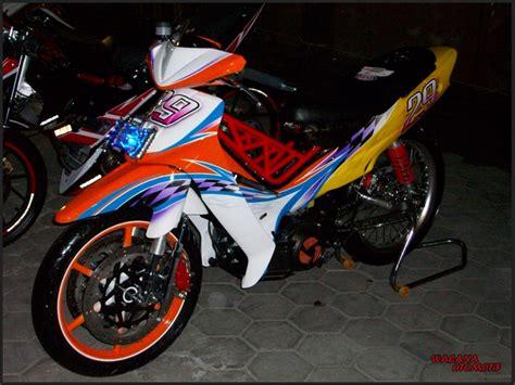 Modifikasi Jupiter Z Road by Gambar Modifikasi Motor Yamaha Jupiter Z Road Race Tercepat