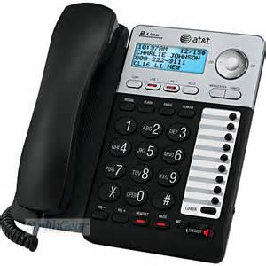 at t home phone service att ml17929 2 line speakerphone with caller id call waiting