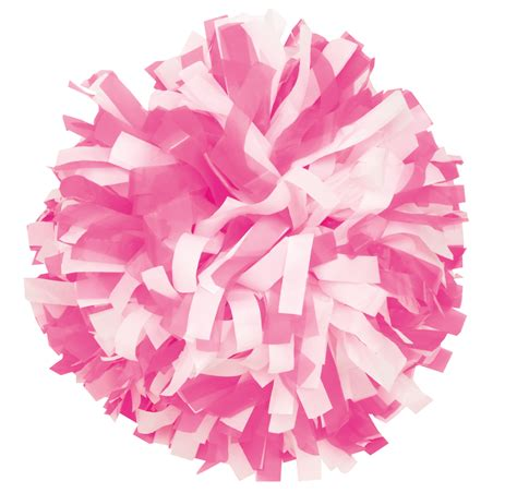 pink pomeranian world twirling cheerleading poms in stock youth pom metallic poms plastic poms 2