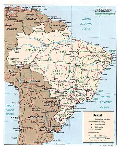 Brazil Maps   Perry Castañeda Map Collection   UT Library Online