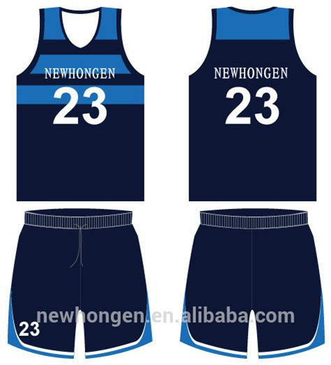 jersey design basketball blue and white sublimated basket ball uniforms basketball jersey white
