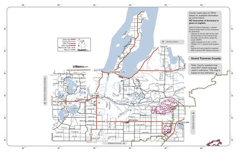 Grand Travers County Detox by Grand Traverse County Map My