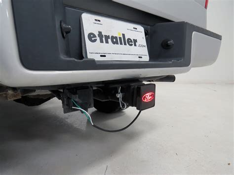 ford brake light trailer hitch receiver cover for 2