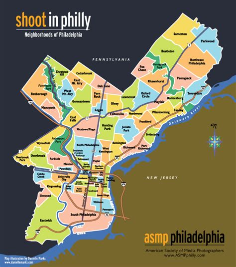 sections of philadelphia map of philadelphia sections afputra com