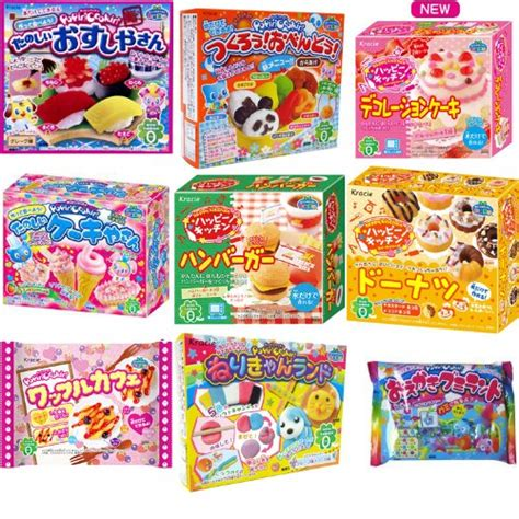 Kracie Poppin Donut kracie popin cookin 9 item bundle with sushi hamburger bento donuts cake shop and more