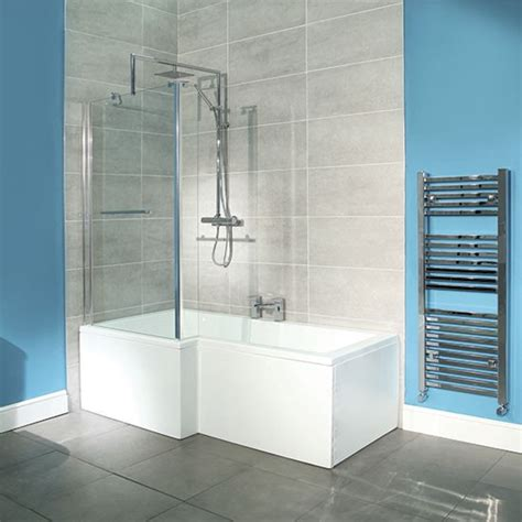 best shower bath square shower bath from better bathrooms shower baths housetohome co uk