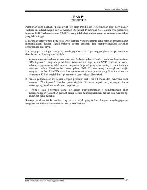 format proposal bantuan dana pendidikan buku 8 panduan pemberian dana bantuan pelaksanaan program