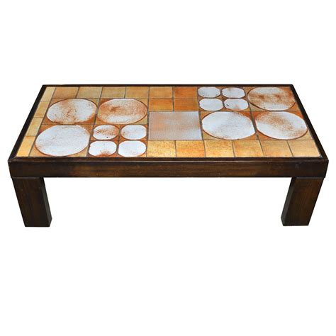 1970s Coffee Table 1970s Coffee Table By Raymonde Leduc Vallauris For Sale At 1stdibs