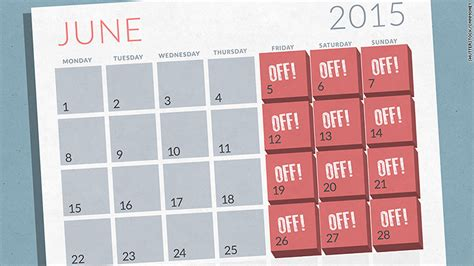 Calendar Calculator Working Days The 4 Day Workweek Is Real For Employees At These