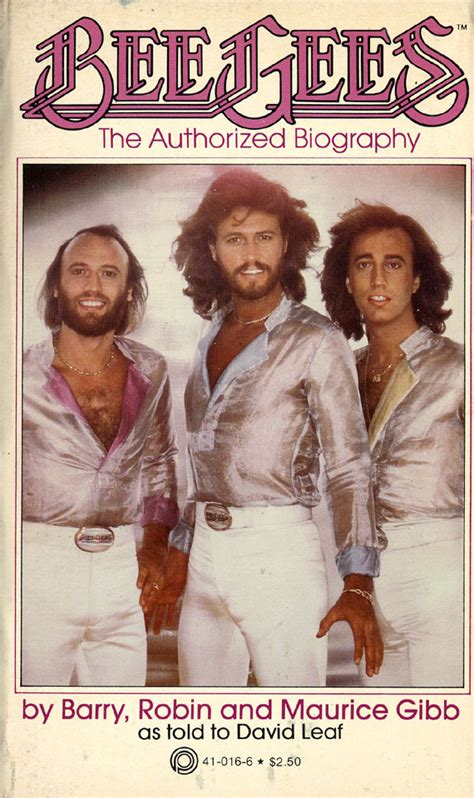 Bee Gees The Authorized Biography Book By David Leaf