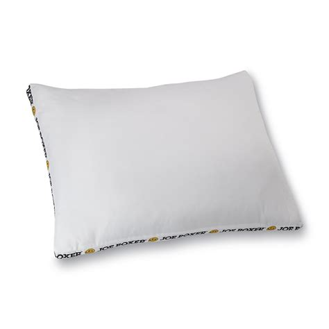 Joe Boxer Pillow joe boxer bed pillow sleep better with kmart