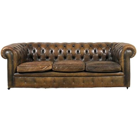 english chesterfield sofa 20th century english chesterfield sofa for sale at 1stdibs