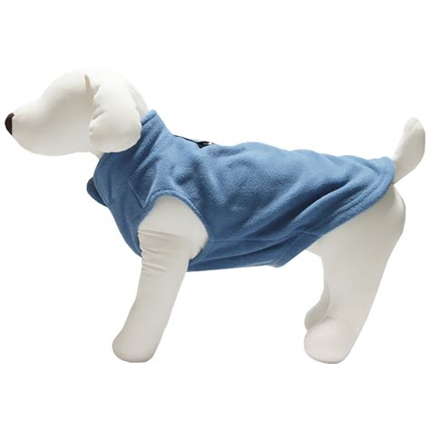 vest for dogs gooby fleece vest for dogs blue large entirelypets