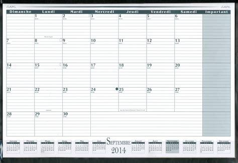 calendrier photo de bureau livre calendrier de bureau mensuel acad 233 mique 2014 2015