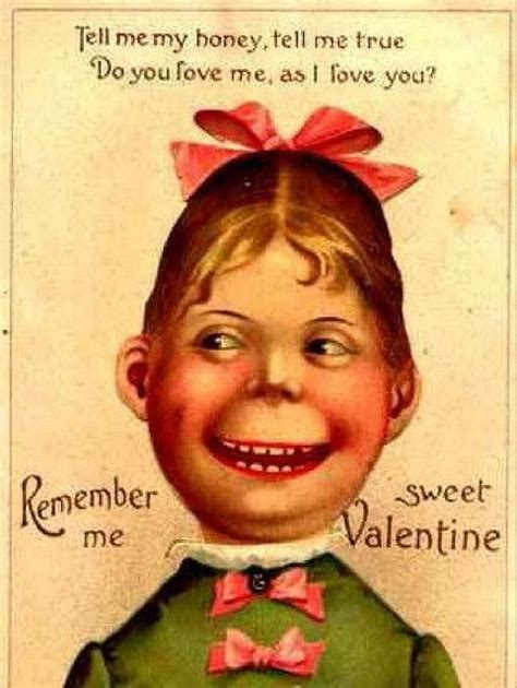 creepy valentines day cards creepy vintage s day greeting cards retro