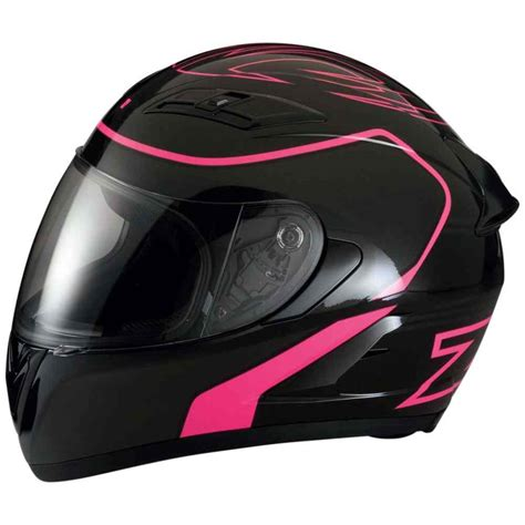 Motorradhelm Rosa by Z1r Strike Ops Sport Road Bike Womens Pink