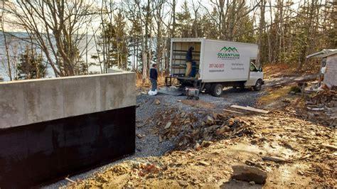 basement waterproofing maine maine waterproofing contractor maine s spray foam insulation contractor quantum insulators