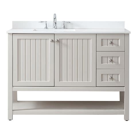 Home Depot Com Bathroom Vanities Martha Stewart Living Seal Harbor 48 In W X 22 In D