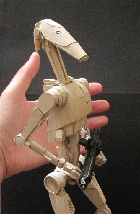 Wars Papercraft Models - wars battle droid by patrickgavin on deviantart