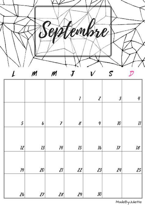 17 Best ideas about Calendrier Septembre 2016 on Pinterest