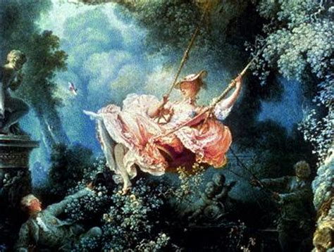 fragonard the swing 1766 pastoral