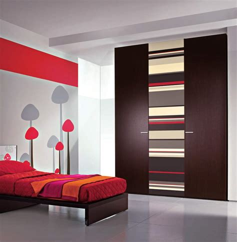 Design Own Bedroom Bedroom Decor With Cover Bed Sheet Also Built In Wardrobe Design For Space Saving