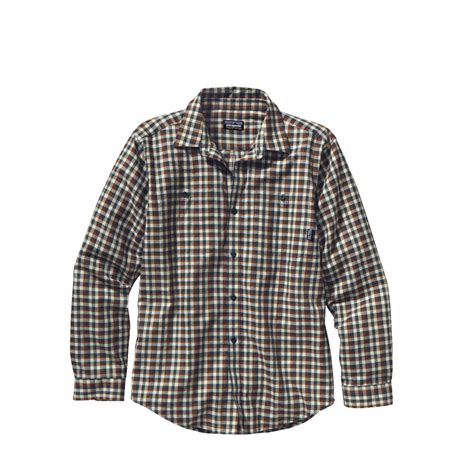 Flannel Shirts For Mens Sht 629 patagonia s sleeved pima cotton shirt