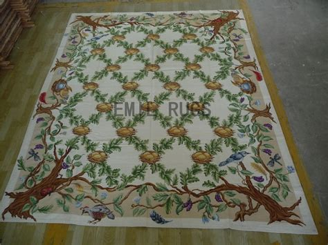 8 x 10 area rugs 100 needlepoint area rugs 8 x 10 ivory field beige border 100 wool european handmade