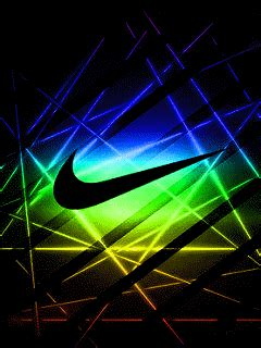 Nike Logo On Glittering Golden Basketball Iphone All Hp nike neon mix screen saver mobile version nike