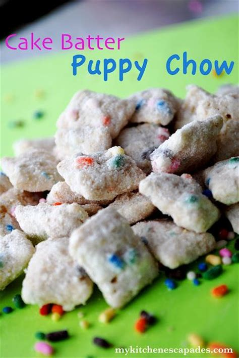 puppy chow snack mix cake batter puppy chow snack mix how do it info