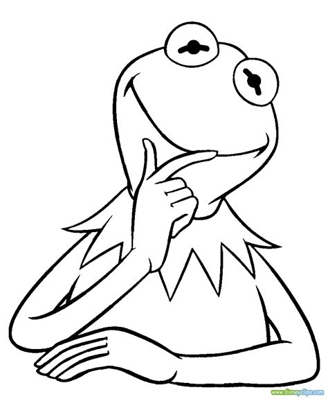 the muppets printable coloring pages disney coloring book