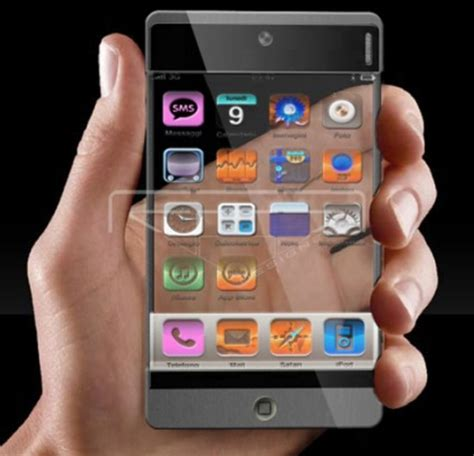transparent phone   concept phones part 2
