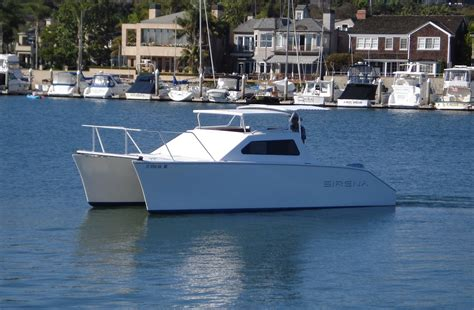 catamaran offshore boat offshore catamaran by bell composite inc offshore 28
