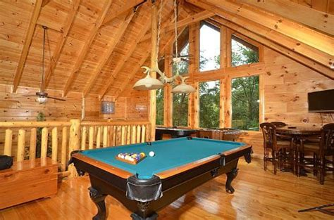Smoky Cove Chalet And Cabin Rentals by Rooms With Pool Tables Air Hockey Arcade
