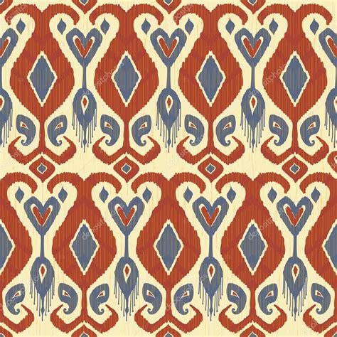 ikat pattern traditional fabric ikat pattern stock vector 169 irmairma