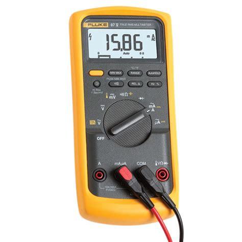 fluke 87v digital multimeter mitchell instrument company
