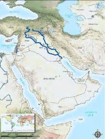 middle east map euphrates river parmionova world rivers day september 26