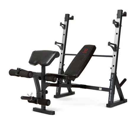 weight bench olympic amazon com marcy diamond md 857 olympic surge bench